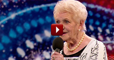 No Regrets!  80 Year Old Mother of Seven Auditions - You are going to like this one! | How to Market Your Small Business | Scoop.it