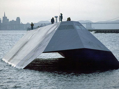 The Military Just Sold This Advanced Prototype Stealth Ship To Scrap For a 95% Loss | TheBottomlineNow | Scoop.it