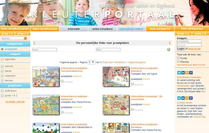 Op Kleuterportaal vind je 148 interactieve praatplaten! | Educatief Internet - Gespot op 't Web | Scoop.it