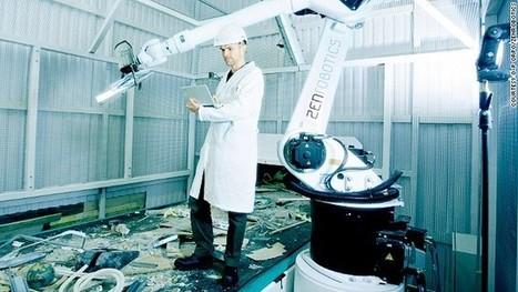 Green machine: Intelligent robot claw recycles waste - CNN | Smarter Planet | Scoop.it