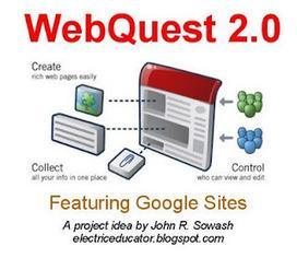 The Electric Educator: WebQuest 2.0 Using Google Sites | WebQuest 2.0 | Scoop.it