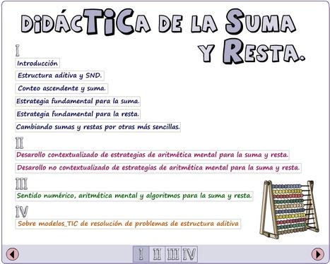didactmaticprimaria: DidácTICa de la suma y resta | DidácTICa_MatemáTICas. Revista Digital | Scoop.it