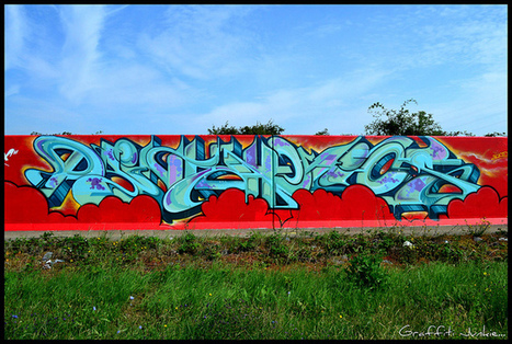 PAINTAHOLICS DYELK FREEHAND LAKESIDE...2011... | Street Art and Street Artists | Scoop.it