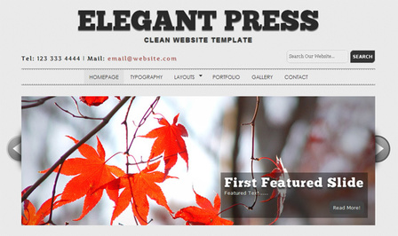 High Quality HTML5/CSS3 Templates and Themes | Splashnology | Noticias de html5 + CSS3 | Scoop.it
