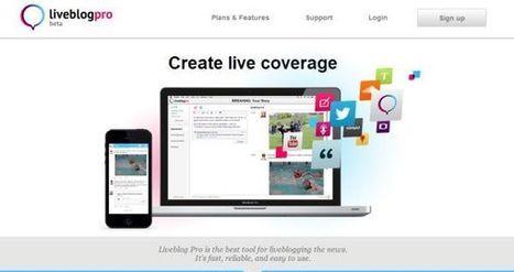 Ya disponible Liveblog Pro, para transmitir eventos en tiempo real en Internet | Saber mas en tecnología, compartir es la via | Scoop.it