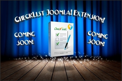 New CheckList Extension for Joomla! is Coming Soon! | JoomPlace Blog | Scoop.it