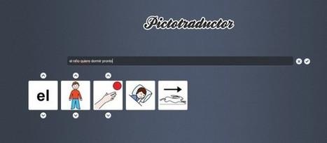 pictotraductor, transforma frases en español en secuencias de imágenes [Educación especial] | Notícias TICXEDU | Scoop.it