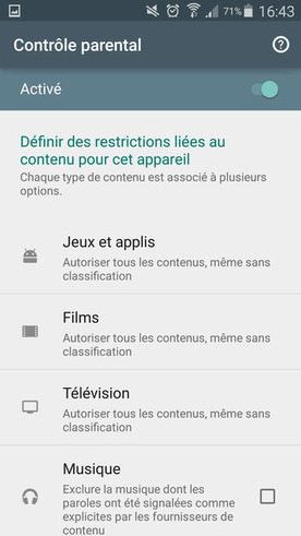 Android : Activer le contrôle parental sur Google Play | Freewares | Scoop.it