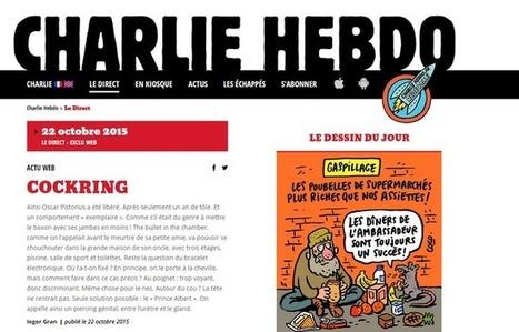 «Charlie Hebdo»: Un tout nouveau site pour le journal satirique | 20 Minutes | CLEMI. Infodoc.Presse  : veille sur l'actualité des médias. Centre de documentation du CLEMI | Scoop.it