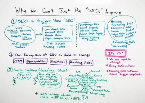 Why We Can't Just Be SEOs Anymore | B-Gina™ TechNews Report  - up and about | Scoop.it