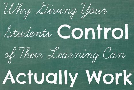Flipping Control to Your Students | Integration and Teaching: Ed Tech | Scoop.it