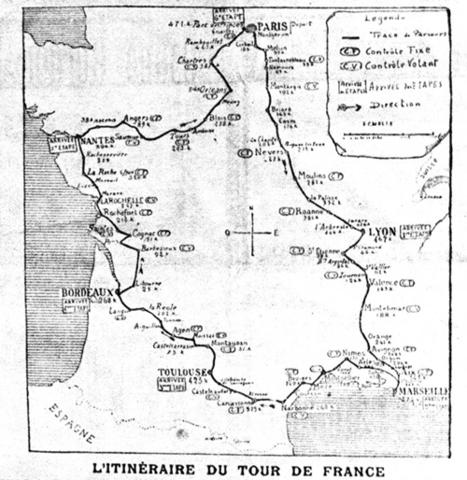 Du 1er au 19 juillet 1903, le premier Tour de France | Nos Racines | Scoop.it