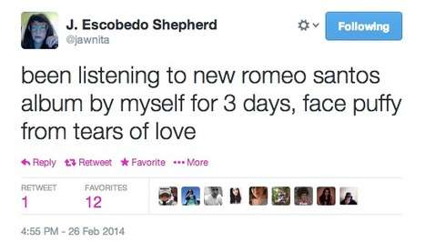 Sample tweet from J. Escobedo Shepherd | Review & Criticism on Social Media | Scoop.it