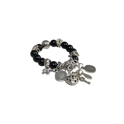 Calinana Midnight Stretch Charm Bracelet | Arm Candy - Hottest Jewelry Trends 2013 | Scoop.it