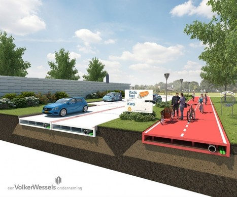 Netherlands Company Introduces Plastic Roads That Are More Durable, Climate Friendly Than Asphalt | Sustain Our Earth | Scoop.it