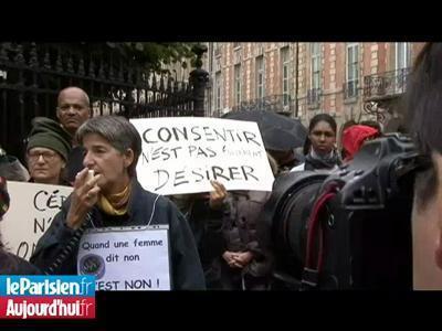 À Paris, des associations manifestent sous les fenêtres de DSK | Epic pics | Scoop.it