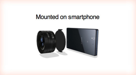 Sony to launch lenses with built-in image sensors, screenless cameras that can be attached to smartphones | locationsaintjeandeluz.fr | Scoop.it