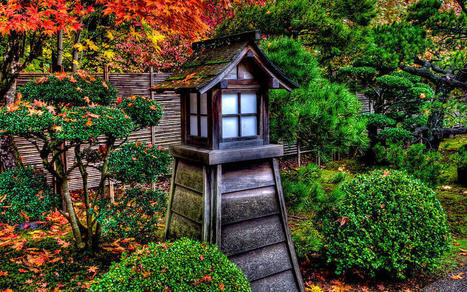 The Pagoda At The Japanese Gardens by Thom Zehrfeld | Japanese Gardens | Scoop.it