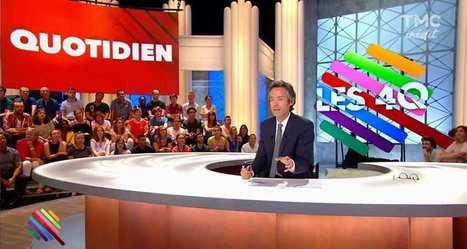 TMC réussit sa rentrée grâce au «Quotidien»de Barthès | Actu des médias | Scoop.it