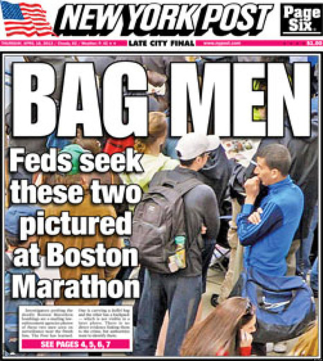 'APPALLING': NY Post's 'New Low' | The Boston Marathon Bombing: Media Full of Mistakes | Scoop.it