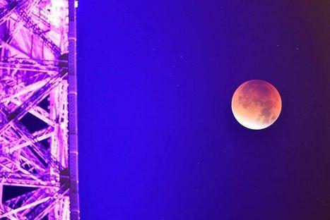 EN IMAGES Les plus beaux clichés de l'exceptionnelle éclipse de ... - Le Point | Espace | Scoop.it