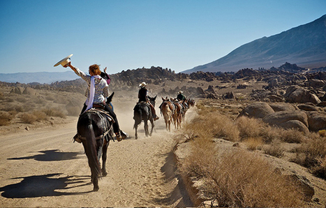 Riding Along the Aqueduct with '100 Mules' | Inyo | Artbound | KCET | Social Art Practices | Scoop.it