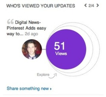 LinkedIn Provides Updated Analytics | Social Media Today | Business in a Social Media World | Scoop.it