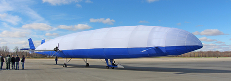 Hybrid Airship Could Launch Shipping Revolution | DiscoverMagazine.com | leapmind | Scoop.it