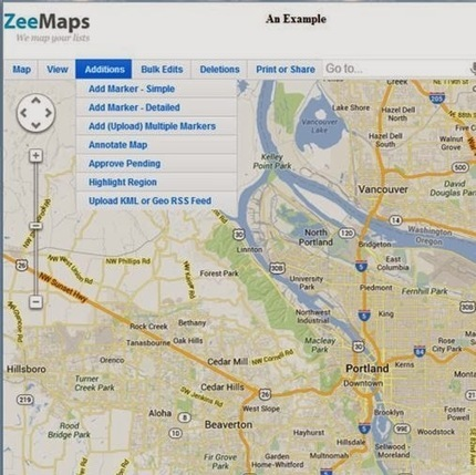 Digital Drifting: ZeeMaps - Creating Interactive Maps | Digital Directions in Education | Scoop.it