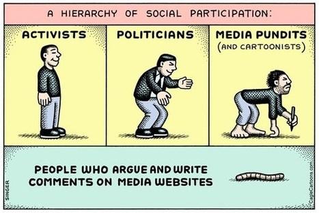 Hierarchy of Social Participation horizontal | Peer2Politics | Scoop.it