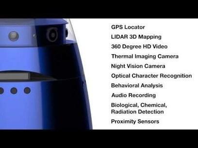 Un robot agent de surveillance pour combattre la criminalité ... | Technologie et Sécurite : Equipe 04 | Scoop.it