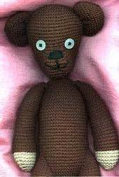 Free Knitting Pattern: Mr Bean Style Teddy Bear | Spinning, Weaving and Knitting | Scoop.it