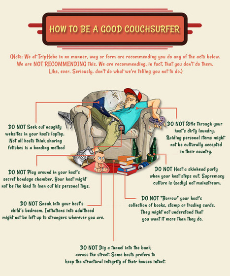 7 Couchsurfing Implications To Blow Your Mind | My Travel Wall | Scoop.it