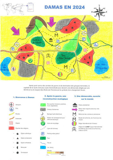 Concours Carto Imaginaire | Univers géographique (geographical universe) | Scoop.it