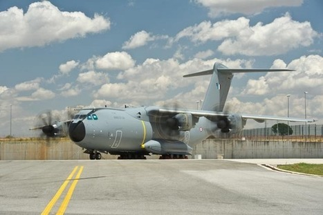 Second Airbus Military A400M for French Air Force runs engines - Airbus Military | Aerospace Information | Scoop.it