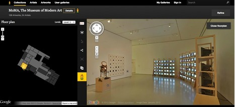Free Technology for Teachers: 7 Good Virtual Tours for Students | Teaching & learning in the creative industries | Scoop.it