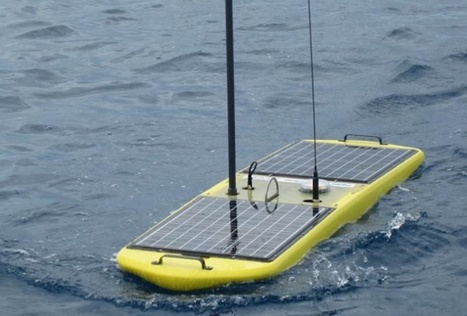 Liquid Robotics: Wave-Powered Boats That Can Sail Forever | Robots and Robotics | Scoop.it