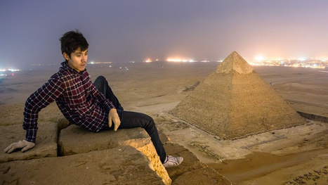 The Unbelievable Photos Taken by the Crazy Russians Who Illegally Climbed Egypt's Great Pyramid | News | Scoop.it