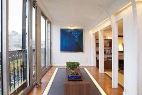 Le Yacht : un appartement parisien rénové par Frédéric Flanquart | DecoDesign | Scoop.it
