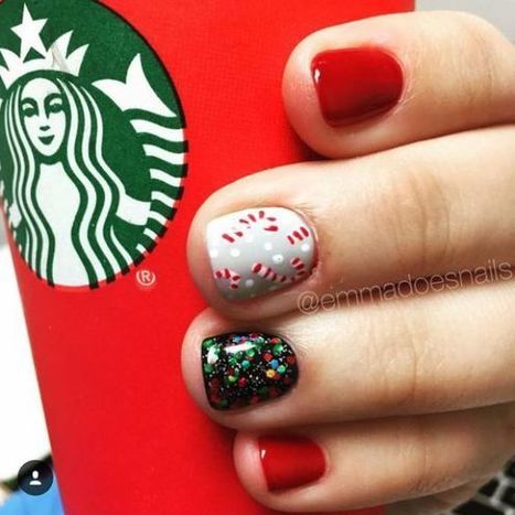 Christmas nails design idea 32 – Imagine | Fashion Home decor Tattoos Beauty Pictures | Scoop.it