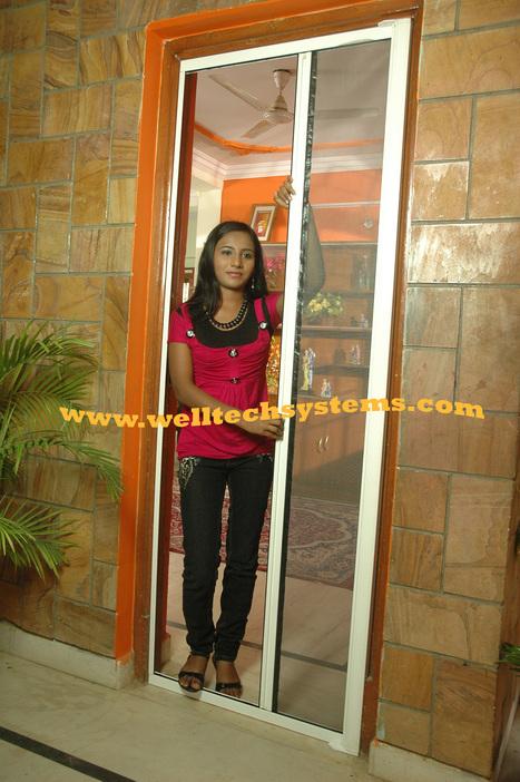 Welltech Mosquito screen Sliding Door | Mosquito Screens Hyderabad | Scoop.it