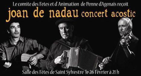 Joan de Nadau en concert   Music and nothing else !   Scoop.it