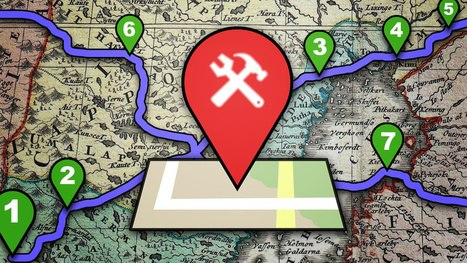 How to Plan a Trip Itinerary Using Custom Google Maps | Geography in the classroom | Scoop.it
