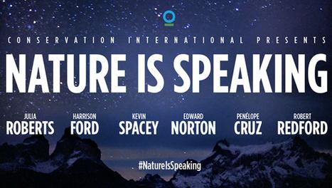 Des célébrités au service de la campagne Nature is speaking | InfoGreen.lu | Scoop.it