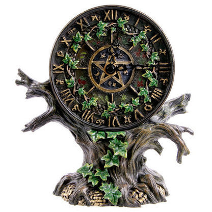 Astrology Tree Clock   Buy Christmas Decorations   Christmas Table Displays   Scoop.it