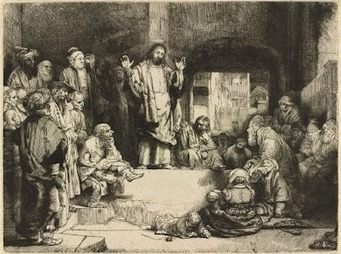 Jeremy Holton - Google+ - Rembrandt 'Christ Teaching' www.jeremyholton.com | Fine Art at Google+ | Scoop.it