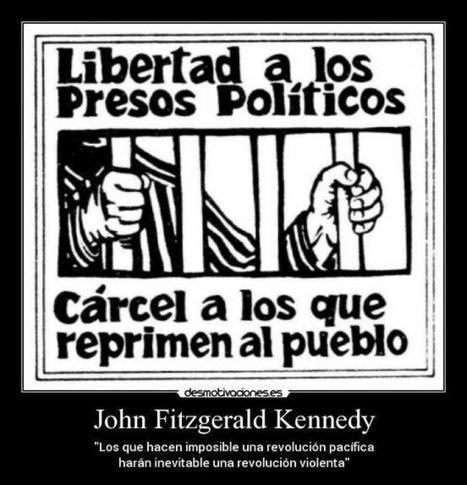 CNA: NO es VENEZUELA - En España, SÍ hay Presos Políticos. Los Casos más Sonados | La R-Evolución de ARMAK | Scoop.it