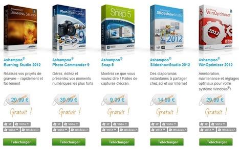 Ashampoo Suite de 5 logiciels commerciaux gratuits 2012 licence gratuite d'une valeur de 124,95 EUR | torxxl | Scoop.it