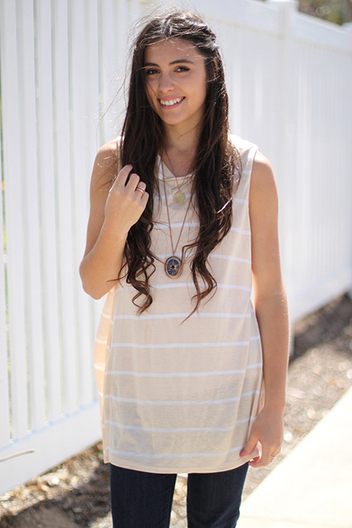 striped hooded tank | Online shopping store | Scoop.it