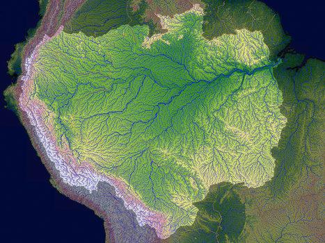 Pourquoi le cours du fleuve Amazone s'est inversé | Intervalles | Scoop.it